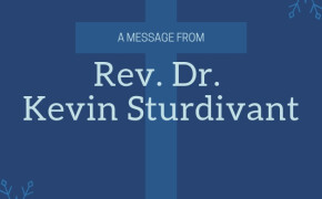 A Message from the Pastor - July 15, 2021