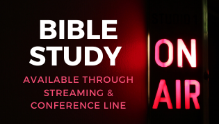 Bible Study (Streaming only)