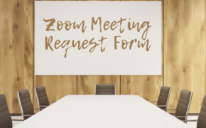 Zoom Meeting Request Form